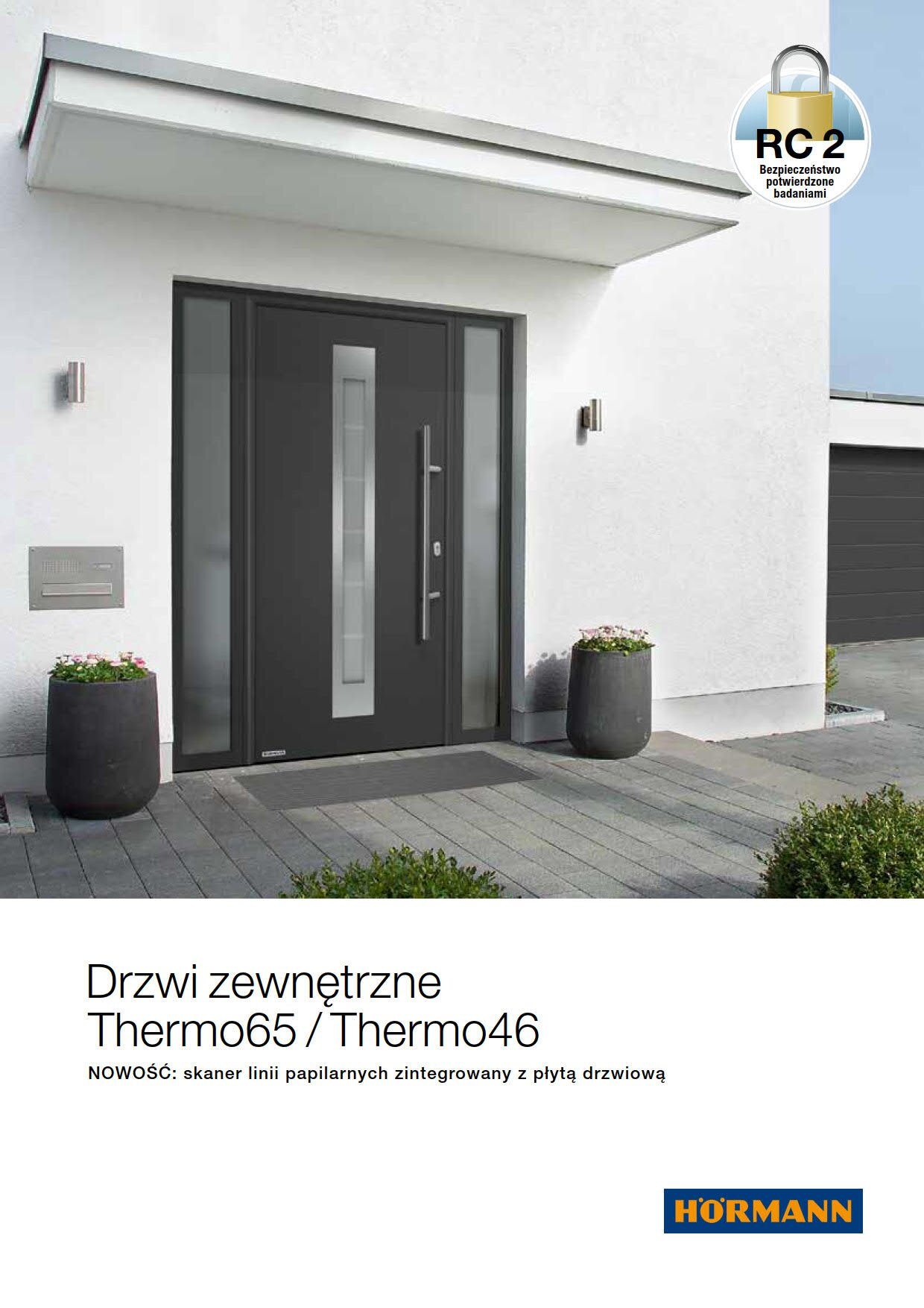 Drzwi stalowe Thermo 46 i Thermo 65 Image
