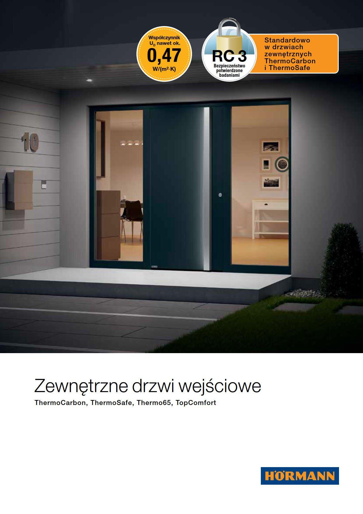 Aluminiowe drzwi zewnętrzne Image