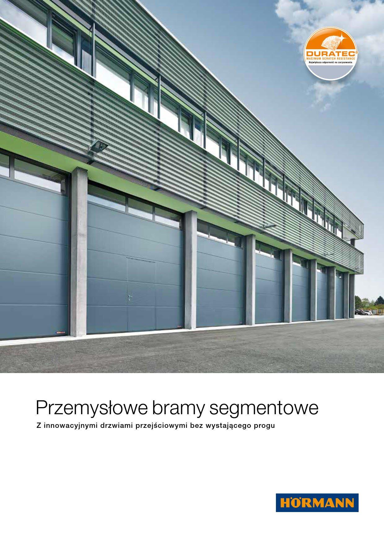 Segmentowe bramy przemysłowe Image